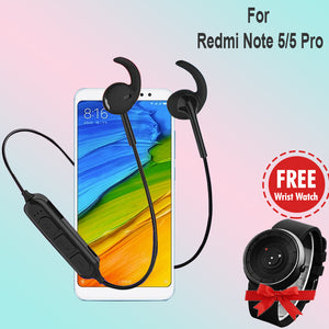 PTron Avento Pro Bluetooth 5.0 Headphones For Xiaomi Redmi Note 5 Pro/Note 5, Get Arrow Watch Free