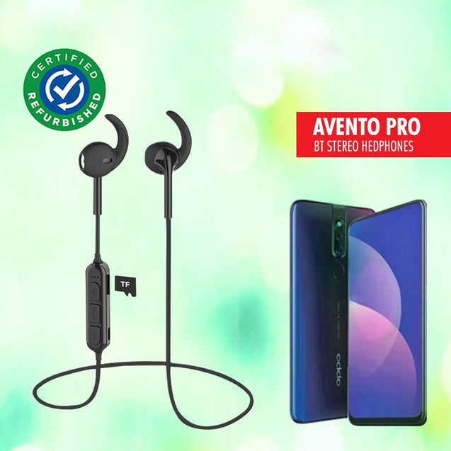 Refurbished- PTron Avento Pro Bluetooth 5.0 Headphones with TF Slot For All Smartphones
