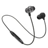 PTron InTunes Pro Magnetic Bluetooth Earphones With Mic For Vivo V11 Pro (Grey/Black)