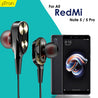 PTron Boom Evo 4D Headphones Deep Bass Stereo Wired Headset For redmi note 5/note 5 pro (Black/Gold)