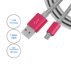 Buy pTron Boom Pro Dual Driver Wired Headphones, Get pTron Falcon 1.5A Micro USB charging Cable Free