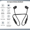 pTron InTunes Lite High Bass In-Ear Wireless Headphones with Mic For Vivo V17 Pro - (Black)