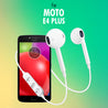 PTron Avento Bluetooth Headphones In-Ear Wireless Earphones With Mic For Moto E4 Plus