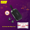 Buy pTron Bassbuds Urban True Wireless Headphones with Deep Bass, Touch Control & Mic ,Get Sirona Wet Wipes Free