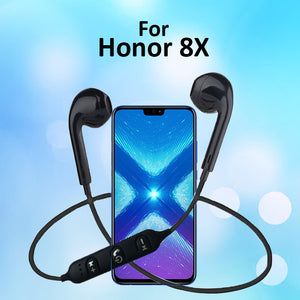 PTron Avento Bluetooth Headphones In-Ear Wireless Headset For Huawei Honor 8X (Black)