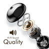 PTron Avento Bluetooth Headphones In-Ear Wireless Headset For Vivo S1 (Black)