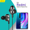 pTron Boom Pro 4D Deep Bass Dual Driver Wired Earphones with Mic for Redmi Note 8 /8 Pro - (Black)