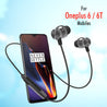 PTron InTunes Pro Magnetic Bluetooth Earphones With Mic For Oneplus 6/6T (Gray/Black)