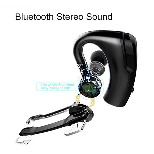 PTron Rover Bluetooth Headset With Voice Control Headphone For Vivo V17 Pro (Black)