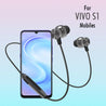 PTron InTunes Pro Magnetic Bluetooth Earphones With Mic For Vivo S1 (Grey/Black)
