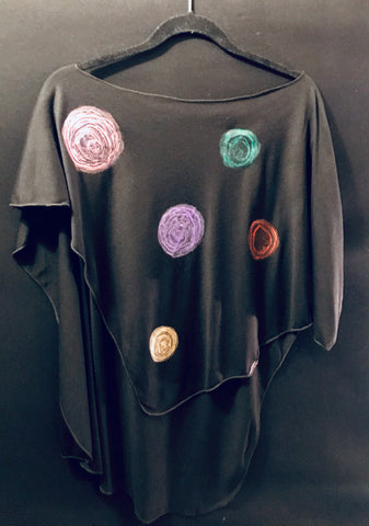 """Pretty Dots"" Poncho"