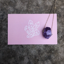 Load image into Gallery viewer, Amethyst Choker