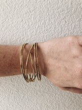 Load image into Gallery viewer, Stacking Hammered Bracelets