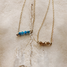 Load image into Gallery viewer, Blue Apatite Necklace
