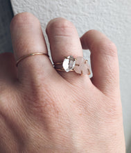 Load image into Gallery viewer, Rose Quartz Solitaire Ring