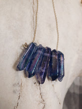 Load image into Gallery viewer, Purple Quartz Necklace