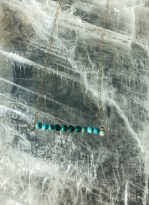 Turquoise & Malachite Necklace