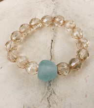 Load image into Gallery viewer, Sea glass Bracelet