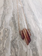 Load image into Gallery viewer, Tangerine Quartz Necklace