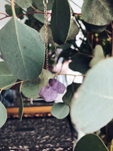 Load image into Gallery viewer, Amethyst Drop Earrings