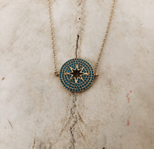 Load image into Gallery viewer, Turquoise Star Necklace