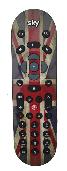Sky, virgin tivo, amazon, now tv remote sticker skins