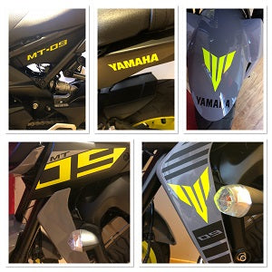 YAMAHA - MT09 Custom Stickers