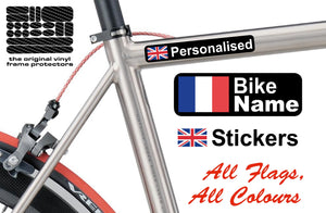 Personalised bike from names ellis graphix