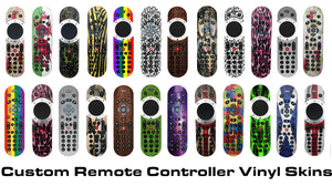tv remote sticker skins ellis graphix