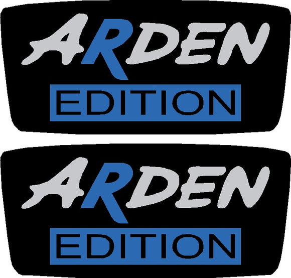 Arden Edition Domed Wing Badges