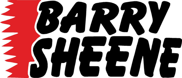 Barry Sheene Mane sticker