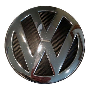 carbon badge inlay for vw