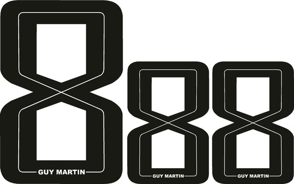 Guy Martin Guy 8 Sticker set
