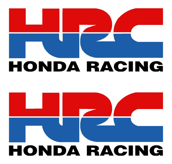 Honda Racing Sticker x 2