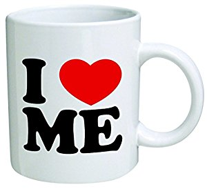 I Love Me Novelty Slogan Mug