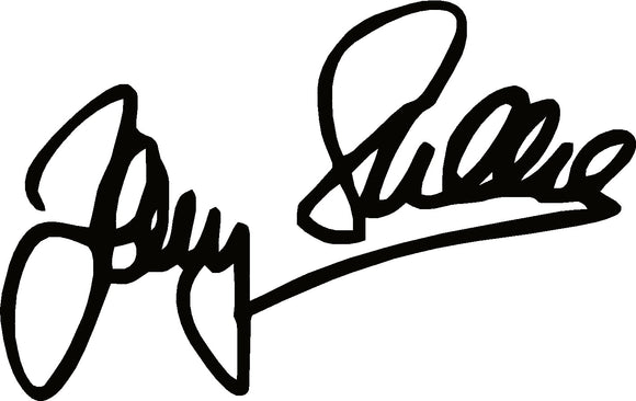 Barry Sheene Signature Sticker