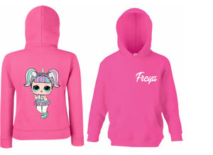 personalised lol doll hoodie