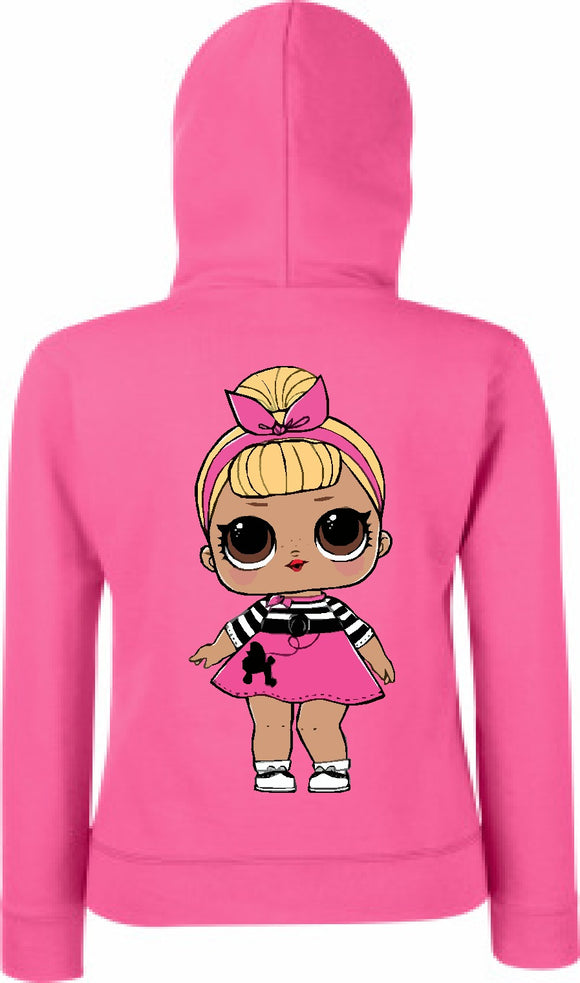 Childrens LOL Doll Hoodie Sis Swing