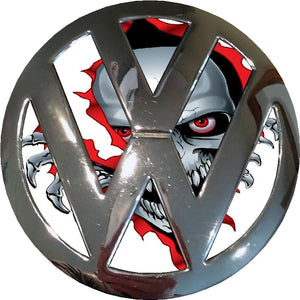 skeleton badge vw inlay