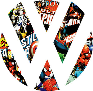 vw comic book stickerbomb badge inlay