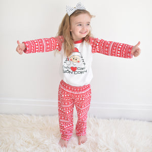 'Sion Corn' Christmas Pyjamas