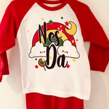 'Nos Da' Red Child's Pyjamas