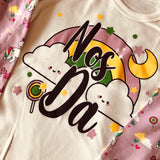 'Nos Da' Unicorn Child's Pyjamas