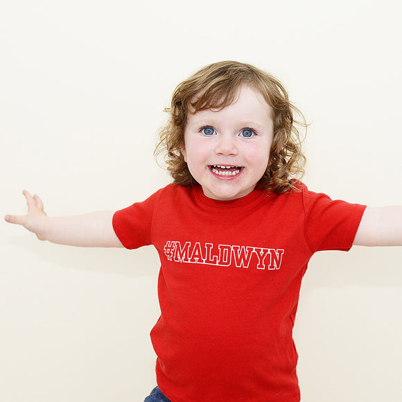 'Maldwyn' baby & child t-shirt