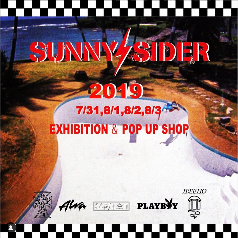 【19.7/30 information】SUNNY C SIDER - 2019EXHIBITION.