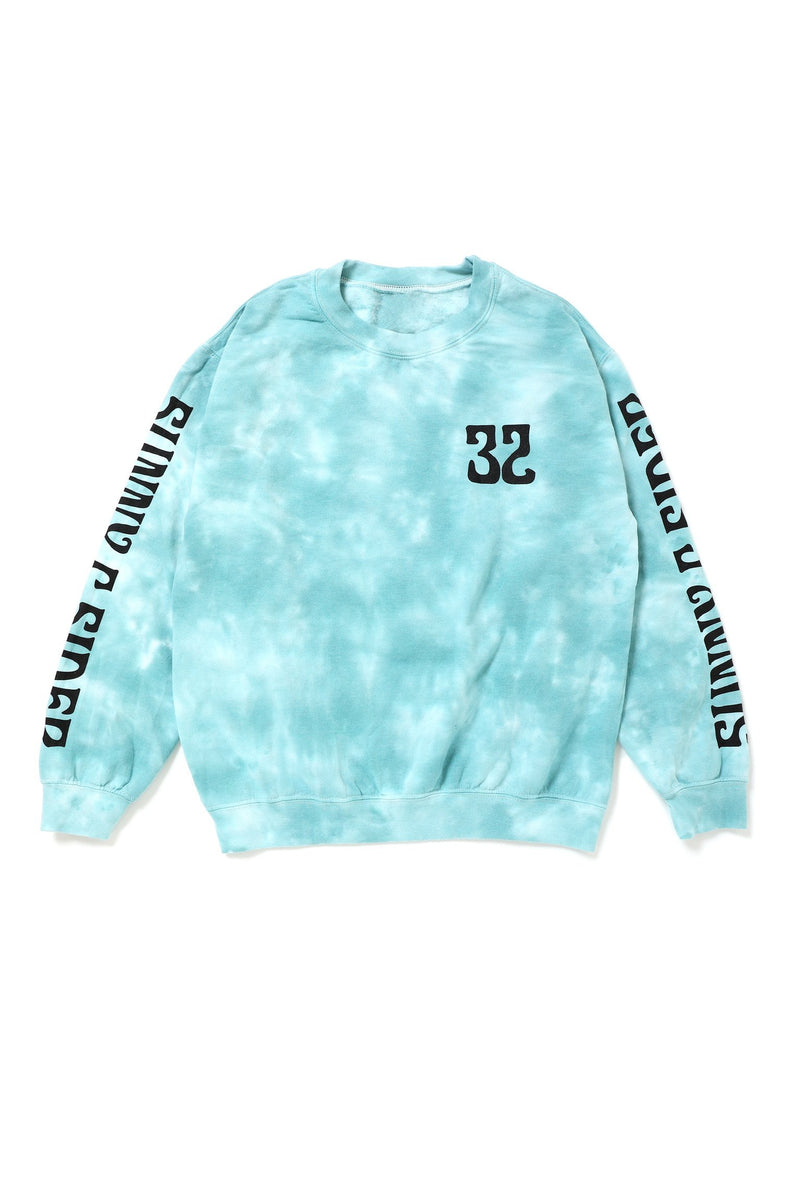 21SCS-WS-TIEDYE Sweat / BLU