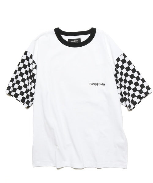 20SCS-SS-1P CHECKER TEE