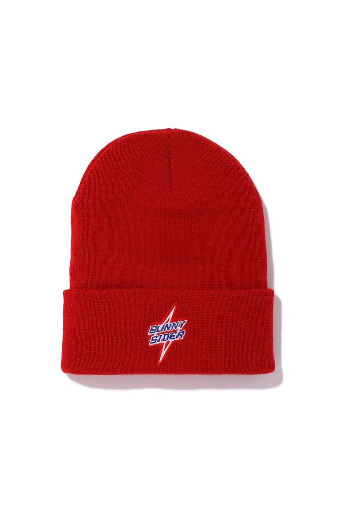 21SCS-WS-BOLT Beanie / RED