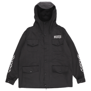 60/40 MOUNTAIN PARKA SHORT / BLK