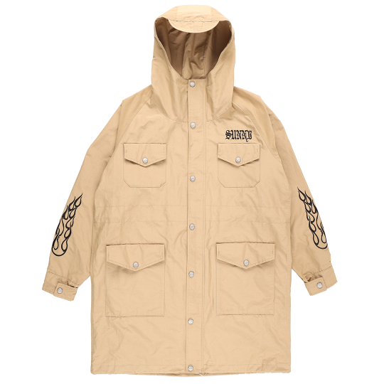 60/40 MOUNTAIN PARKA LONG / TAN